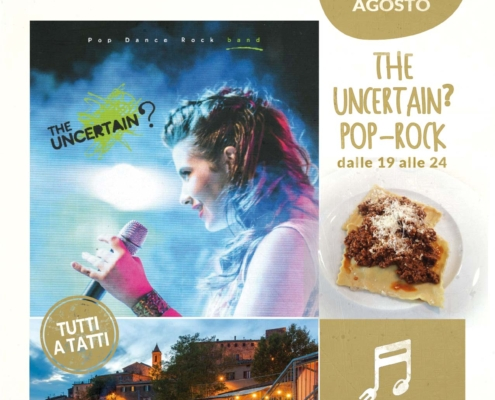 13 agosto 2020 - Uncertain pop rock