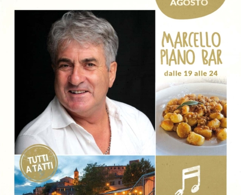5 agosto 2020 - Marcello piano bar - Il Barrino di Tatti